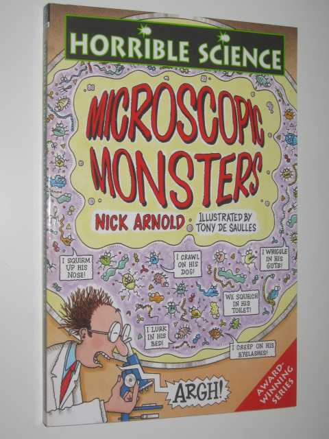Image for Microscope Monsters - Horrible Science Series