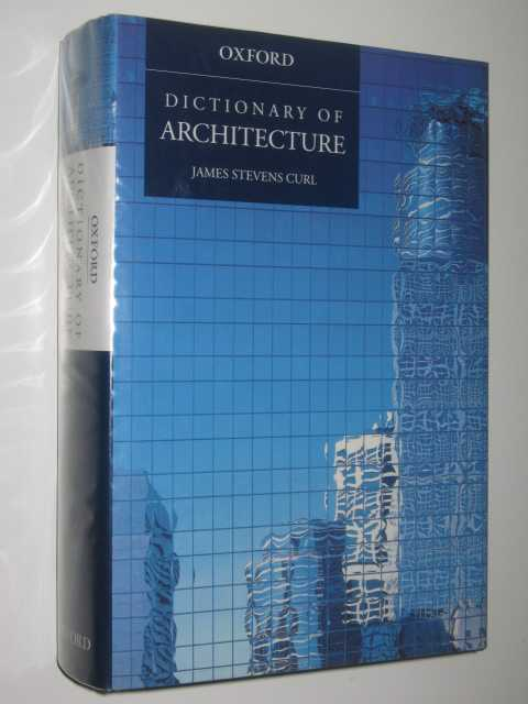 Image for Dictionary of Architecture