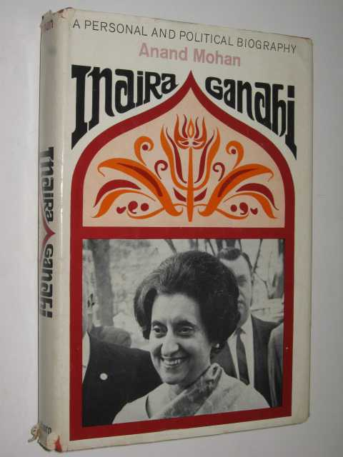 Image for Indira Gandhi : A Personal and Political Biography