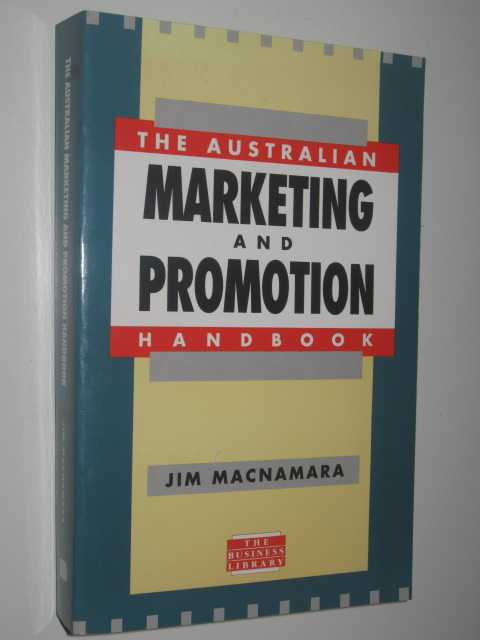 Image for The Australian Marketing and Promotion Handbook