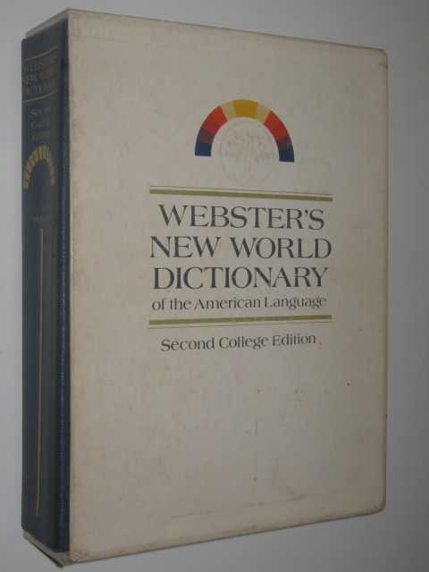 Image for Webster's New World Dictionary of the American Language Second College Edition