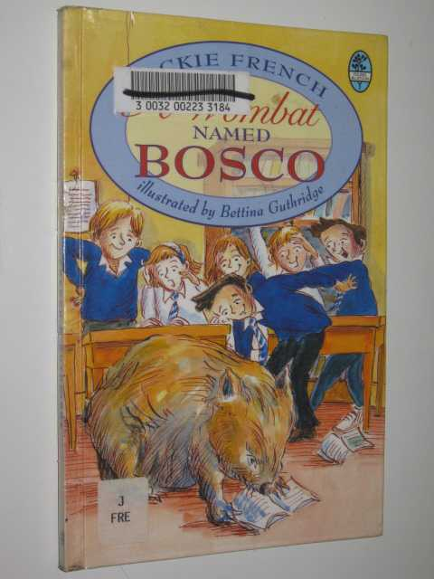 Image for A Wombat Named Bosco