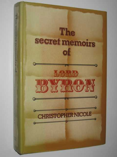 Image for The Secret Memoirs of Lord Byron