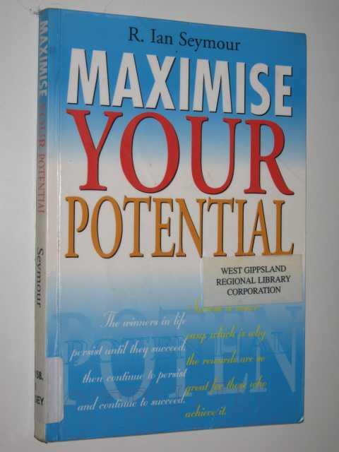Image for Maximise Your Potential