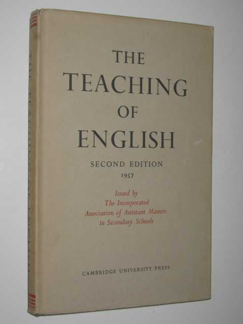 Image for The Teaching Of English