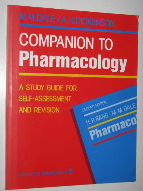 Image for Companion to Pharmacology : A Study Guide for Self-Assessment and Revision