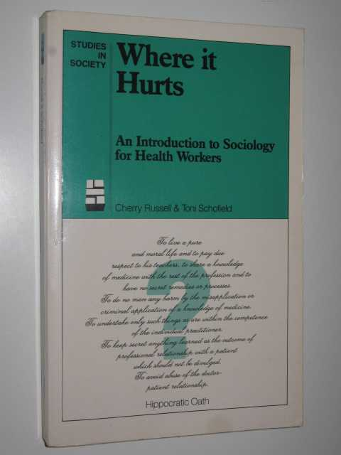 Image for Where it Hurts : An Introduction to Sociology for Health Workers