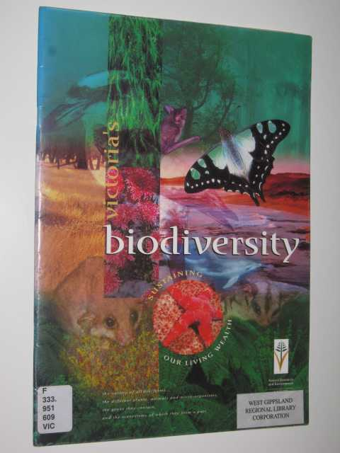 Image for Victoria's Biodiversity: Sustaining Our Living Wealth