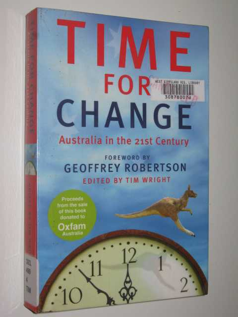 Image for Time For Change: Australia In The 21st Century