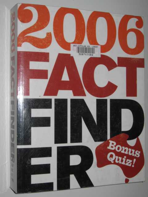 Image for 2006 Fact Finder