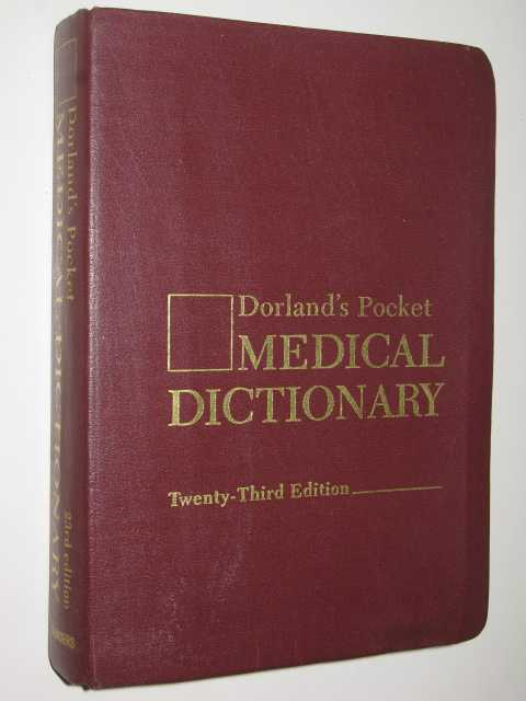 Image for Dorland's Pocket Medical Dictionary