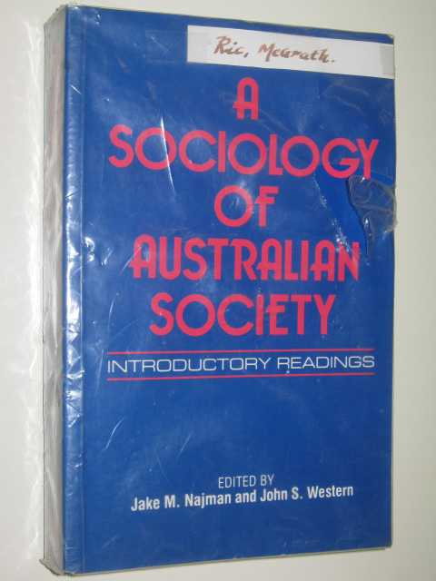 Image for A Sociology Of Australian Society : Introductory Readings
