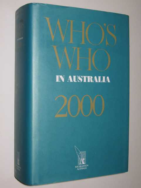 Image for Who's Who In Australia 2000