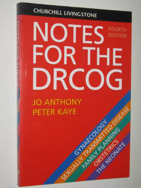 Image for Notes For The DRCOG