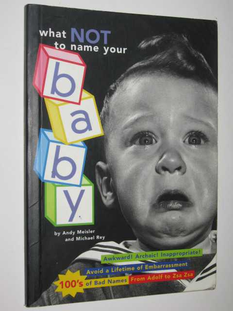 Image for What Not To Name Your Baby