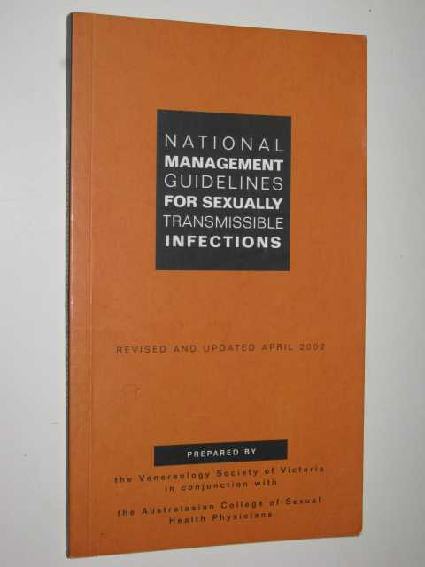 Image for National Management Guidelines For Sexually Transmissible Infections