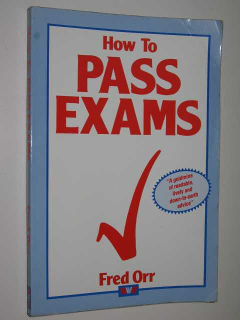 Image for How To Pass Exams