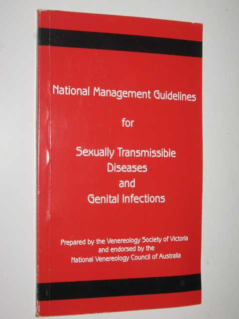 Image for National Management Guidelines For Sexually Transmissible Diseases And Genital Infections