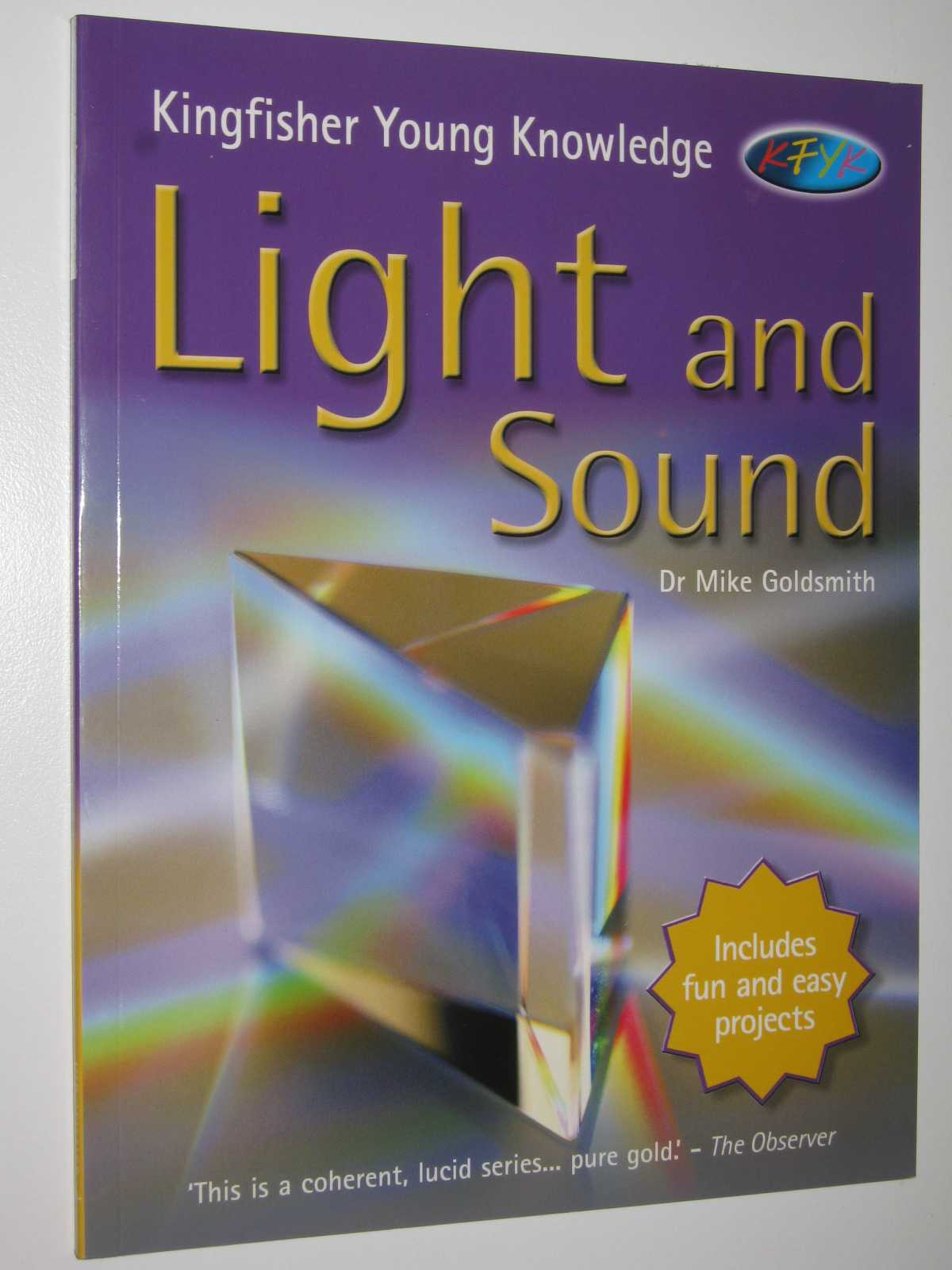 Image for Light and Sound - Kingfisher Young Knowledge Series
