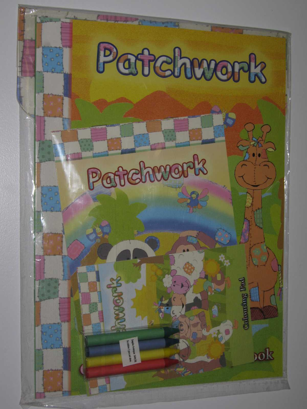 Image for Patchwork Colouring and Activity Play Pack