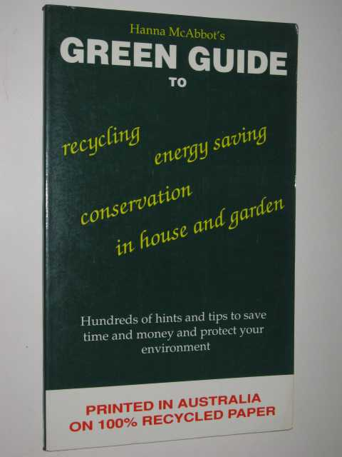 Image for Hanna McAbbot's Green Guide To House & Garden