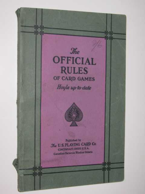 Image for The Official Rules Of Card Games : Hoyle Up-To-Date