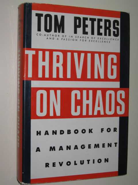 Image for Thriving On Chaos : Handbook For A Management Revolution