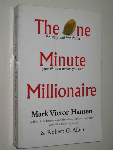 Image for The One Minute Millionaire : The Story That Transforms Your Life & Makes You Rich