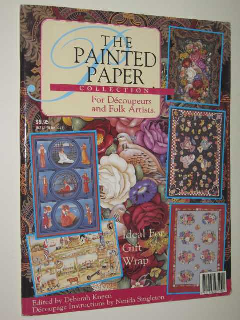 Image for The Painted Paper Collection For Decoupeurs & Folk Artists