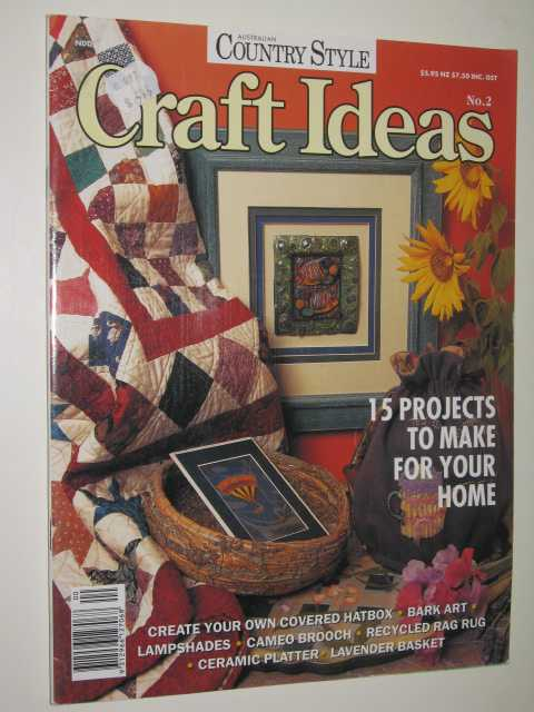 Image for Craft Ideas - Australian Country Style Series #2