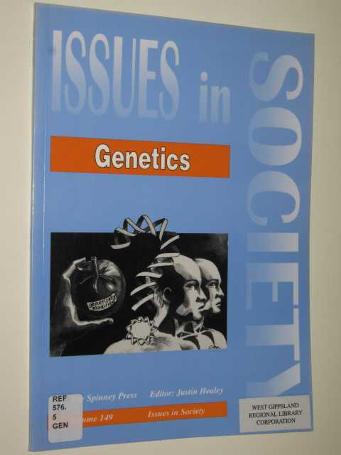 Image for Genetics - Issues In Society Series #149