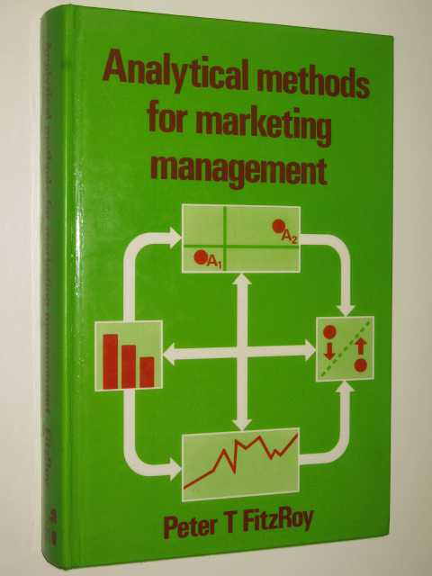 Image for Analytical Methods For Marketing Management