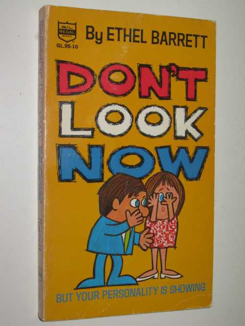 Image for Don't Look Now but Your Personality is Showing