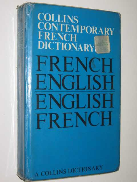 Image for Contemporary French Dictionary