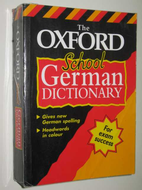 Image for The Oxford School German Dictionary