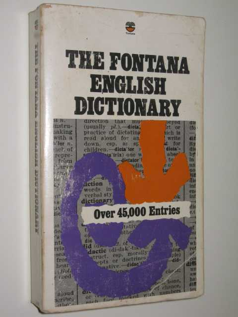 Image for The Fontana English Dictionary
