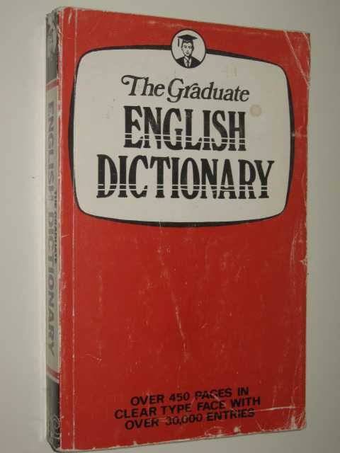 Image for The Graduate English Dictionary
