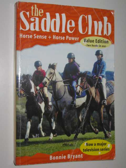 Image for Horse Sense + Horse Power - The Saddle Club Series