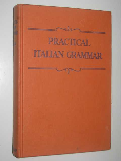 Image for Practical Italian Grammar