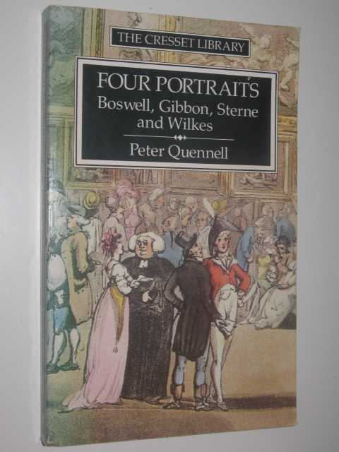 Image for Four Portraits : Boswell, Sterne, Gibbon and Wilkes