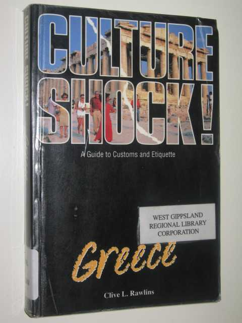 Image for Greece: Culture Shock : A guide To Customs And Etiquette