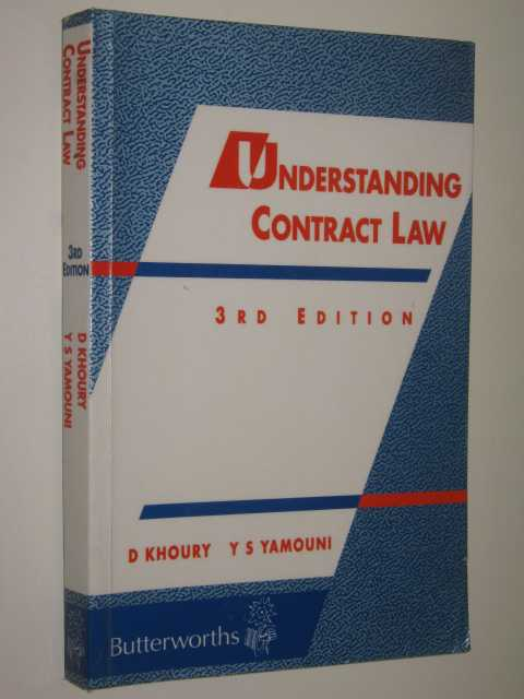 Image for Understanding Contract Law