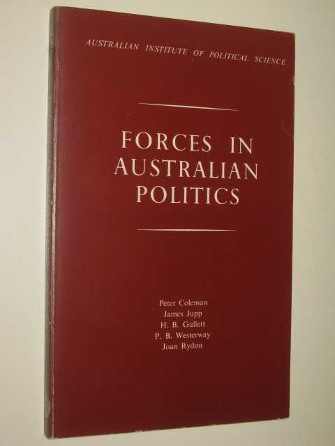 Image for Forces In Australian Politics