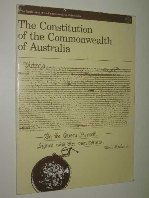 Image for The Constitution : As Altered To 30 June 1987