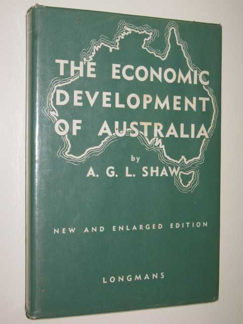 Image for The Economic Development Of Australia