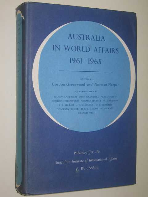 Image for Australia In World Affairs 1961-1965