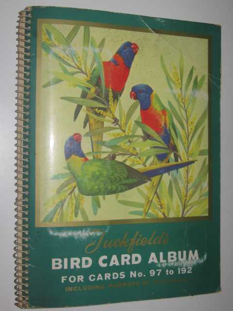 Image for Tuckfields Australian Cards Bird Series Album No.2 : For cards 97-192