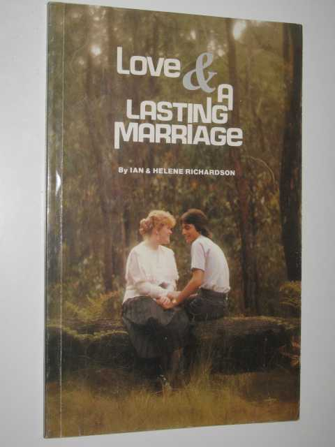 Image for Love and Lasting Marriage