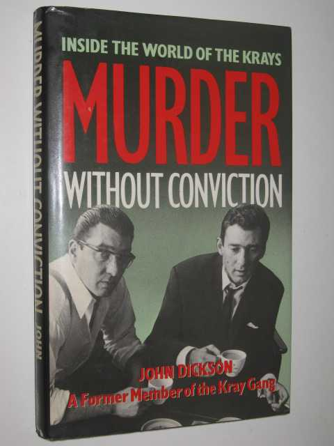 Image for Murder Without Conviction : Inside the World of the Krays