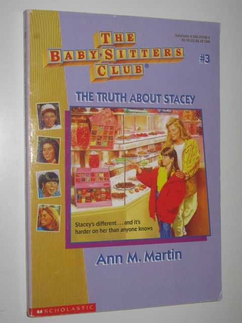 Image for The Truth About Stacey - Baby-Sitters Club Series #3